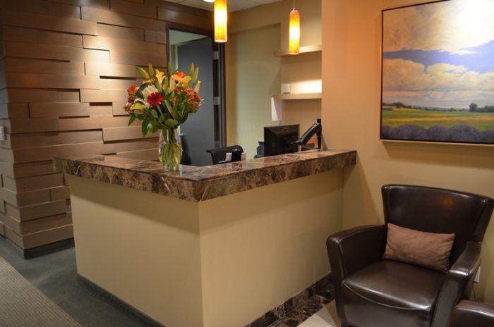Small Office Reception Interior Design Ideas Google Search