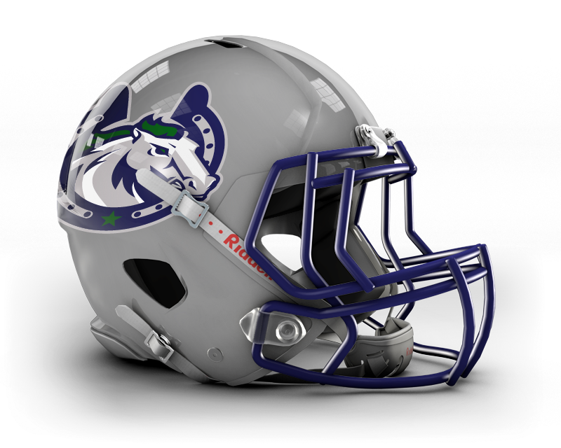 Kentucky Thoroughbreds Nafl With Images Football Helmets