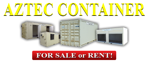 Aztec Container 10 20 40 Length For Sale Or Rent Shipping Containers For Sale Storage Containers For Sale Containers For Sale
