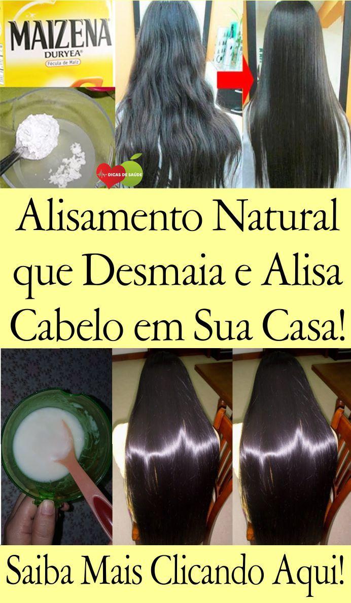 Aprenda Como Fazer Um Alisamento Natural Com Bicarbonato De Sodio