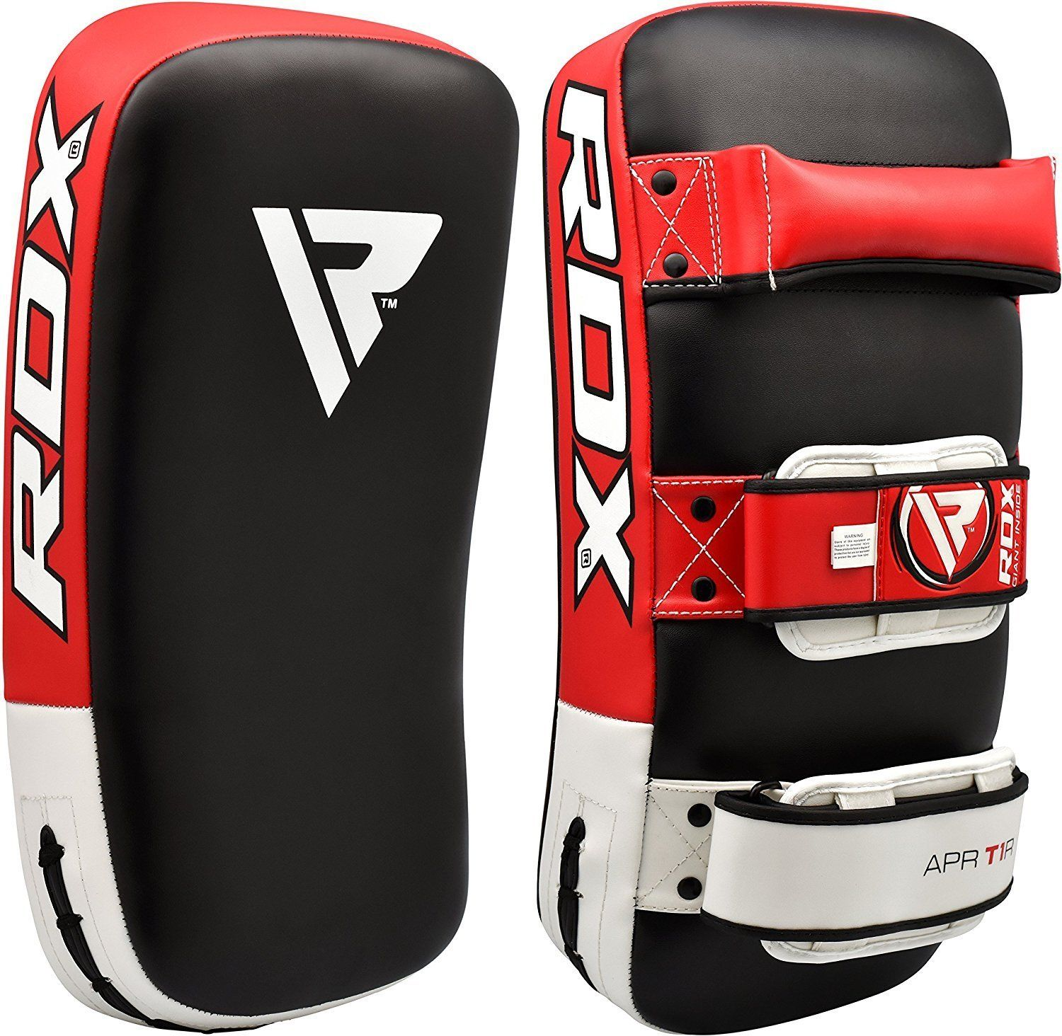 MMA Strike Shield Kickboxing Muay Thai Kick Punch Pad Training Gear Martial Arts