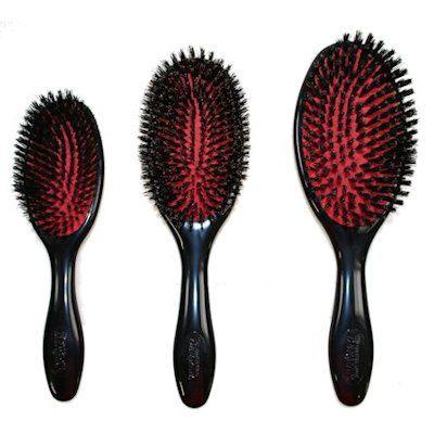 Mason Pearson Dupe Denman Boar Bristle Brush In Size Large 45 Or Medium 40 Boar Bristle Brushed Out Curls Boar Brush