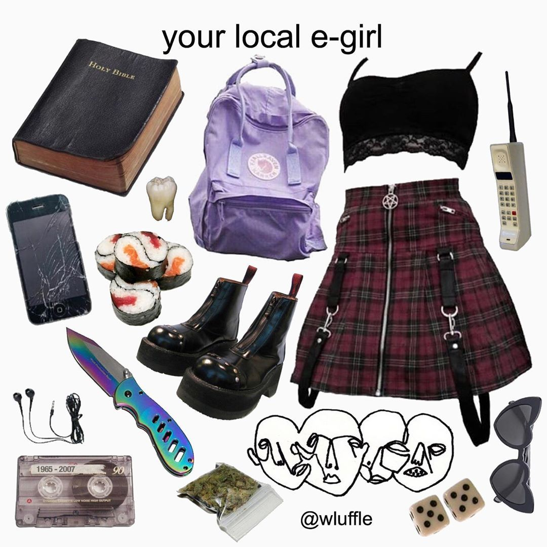 E Girl Fashion: Egirl Fashion, Aesthetic Clothes