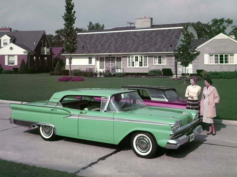 1959 Ford Fairlane 500 in ''April Green''   Vintage Cars