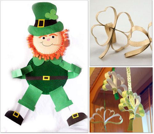 St Patricks Day Party Activities March Crafts March And Crafts