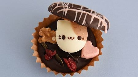 コロンとしたどうぶつとハートが可愛いフロレスタのバレンタイン限定ドーナツ