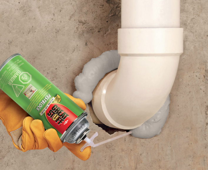 Did you know: One 12-oz can of GREAT STUFF Pestblock = up to