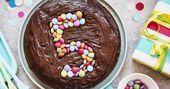 Schokoladenkuchen für Kindergeburtstag   – 1. Geburtstag Amelie #Schokoladenkuc… – Schokoladenkuchen Rezepte