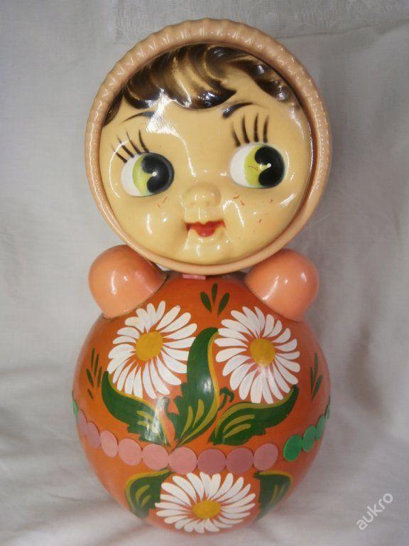 Rarita cinkající panenka ruský SSSR velká  7653b30b59