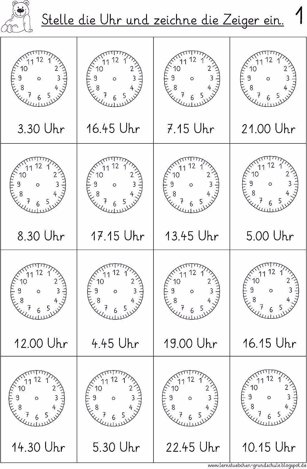 Vorgegebene Uhrzeiten Einstellen 6