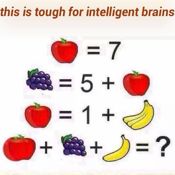 This is Tough For Intelligent ...