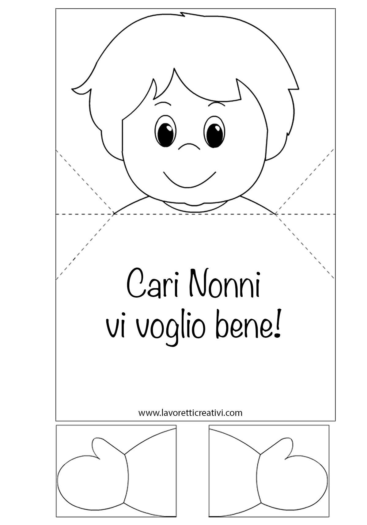 Biglietto Pop Up Per La Festa Dei Nonni Lavoretti Creativi Arte