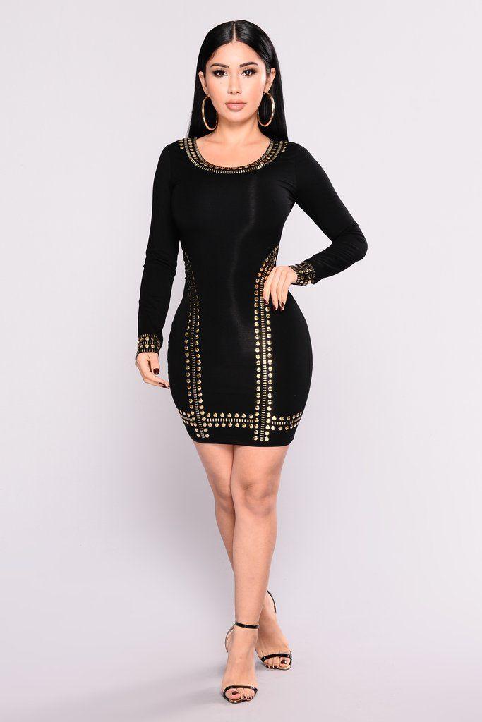 68ec90b0778 Such A Stud Dress - Black