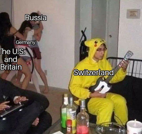Photo of Switzerland in WW2 (circa 1942)