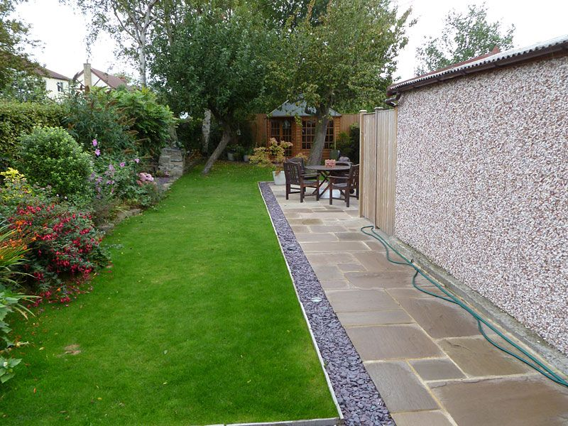 Patio With Gravel Border   Google Search