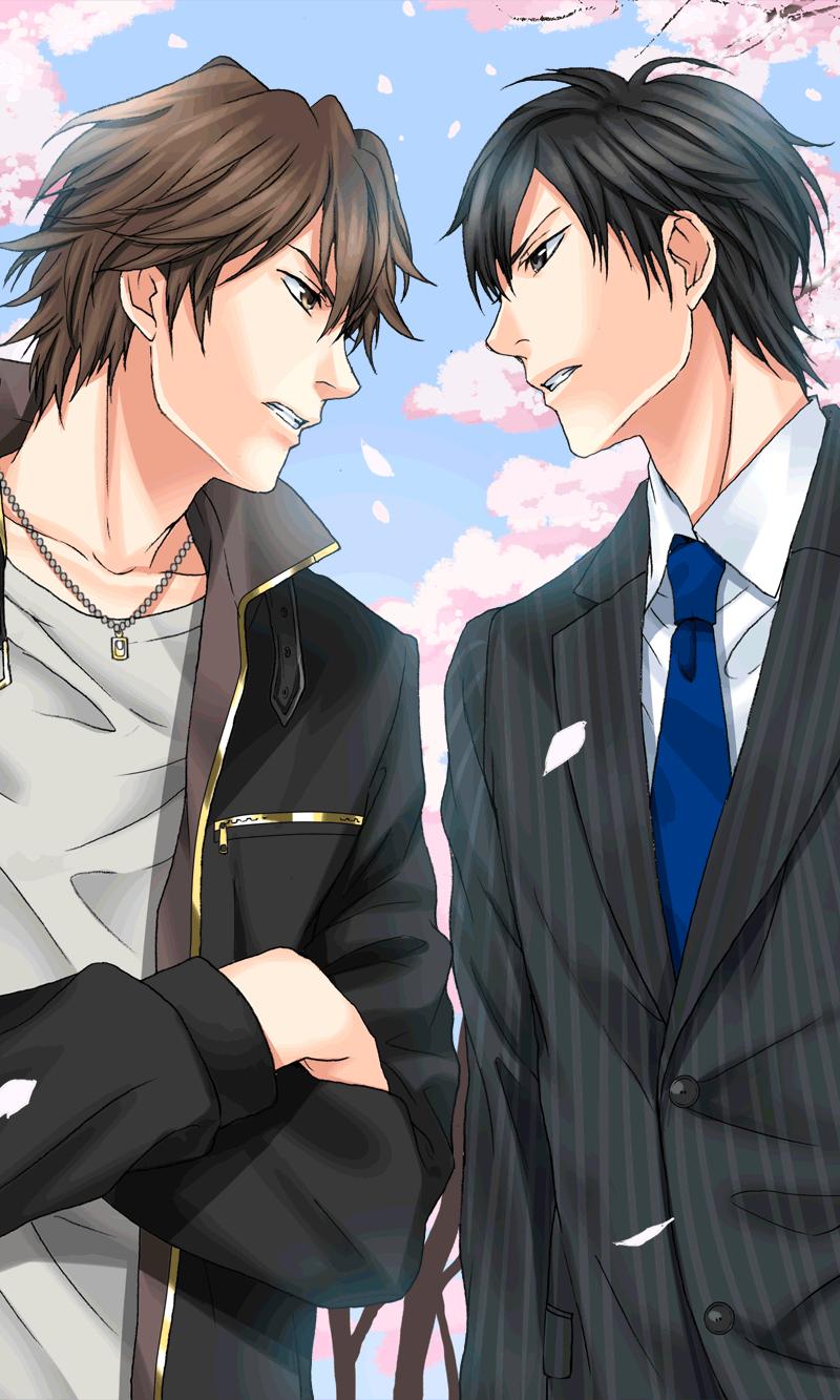 Subaru Ichiyanagi & Seiji Goto (My Sweet Bodyguard) Cute