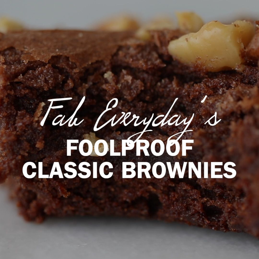 The last brownie recipe you'll ever need: Fab Ever