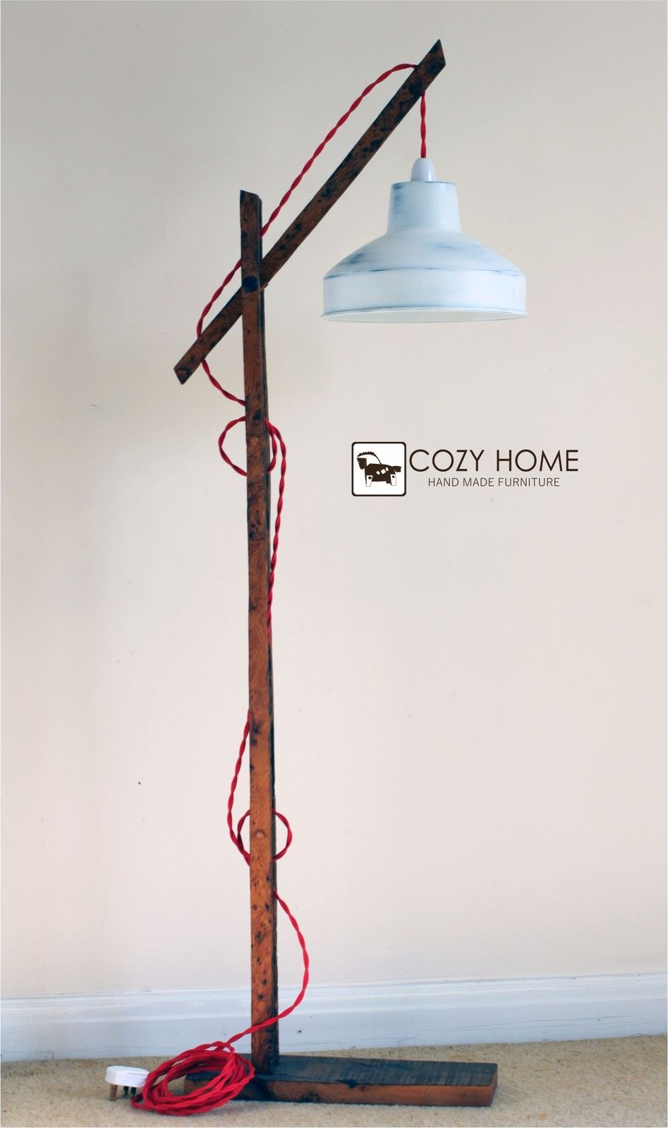 ... Vintage Wooden Hand Carved African Lamp Stand for Sale