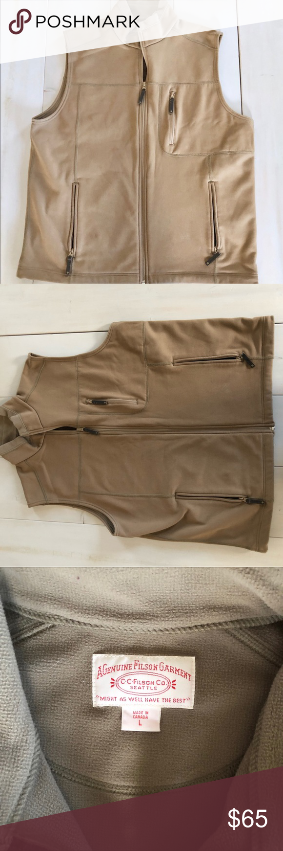 20c675941 Filson men's vest Filson men's vest. Euc. Filson Jackets & Coats ...