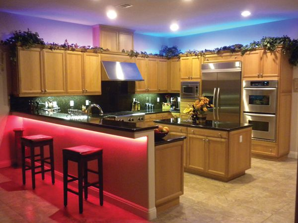 Led Light Bar Kitchen Cabinet Under cabiLED lighting and color changing LED lights under the