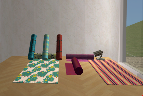 Spiralbound Sims | Yoga Mats by MustLuvCatz Mesh and pics included ...