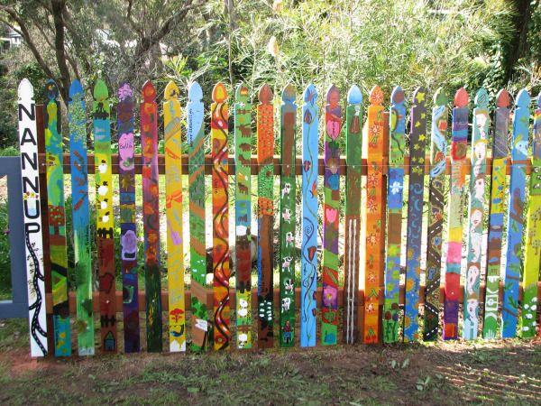 NAC Inc Picket Fence Art Installation Nannup Arts Council Inc