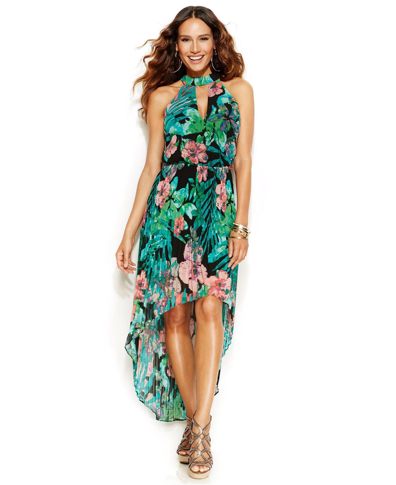 Thalia sodi snakeskin-print maxi dress