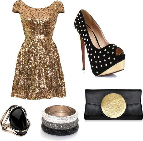 """New Years Eve"" by livfyda on Polyvore"