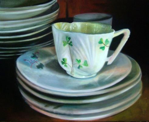 Clover Tea Cup Melanie McDonald