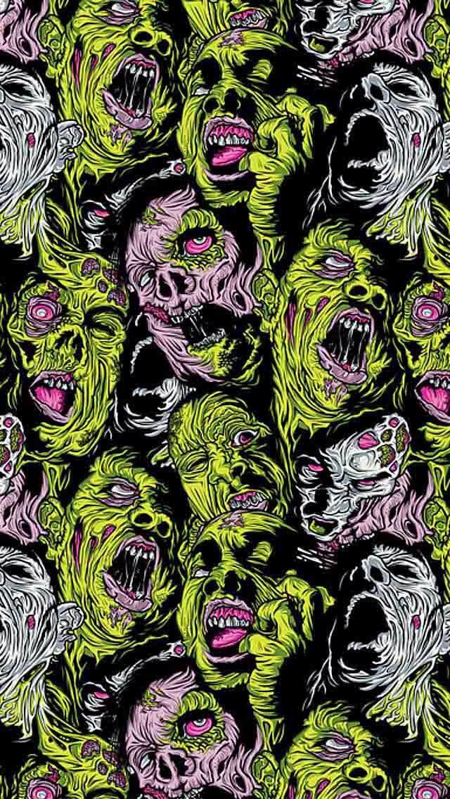 Zombies Zombie Wallpaper Trippy Wallpaper Goth Wallpaper
