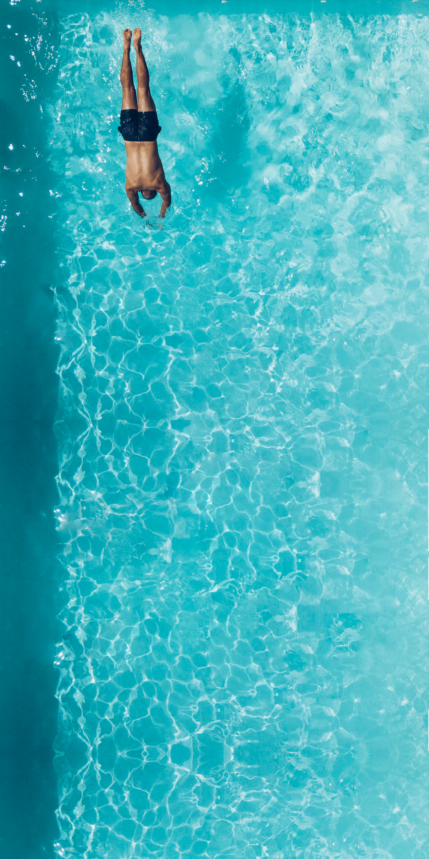 Person About To Dive On Swimming Pool Photo Free Pool Image On Unsplash Swimming Pool Pictures Pool Picture Swimming Pool Images