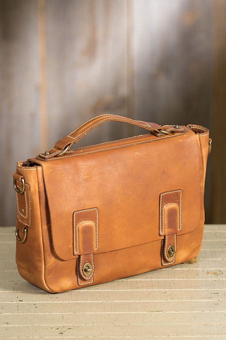 Coronado Americana Leather Messenger Bag with Concealed Carry Pocket ... eae8def07633