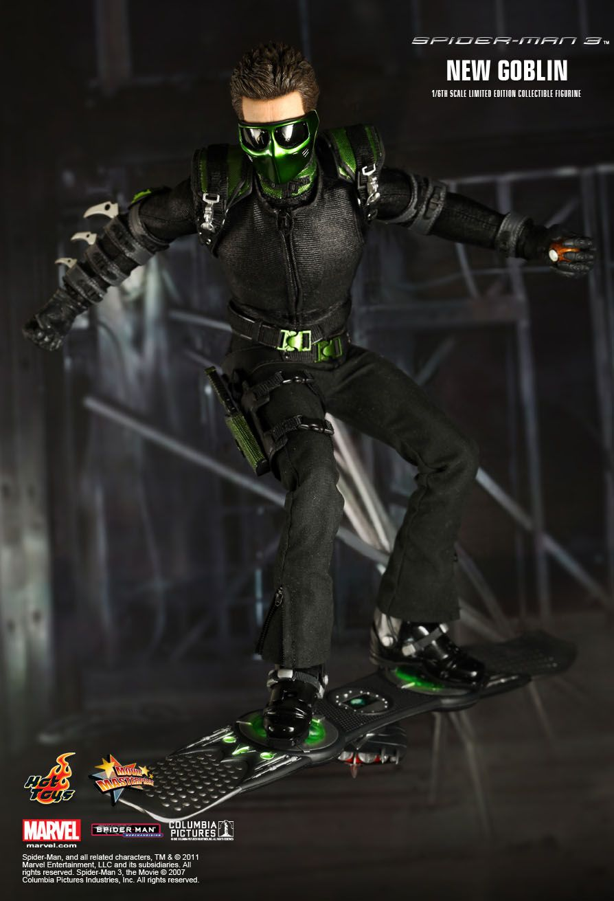 Hot Toys : Spider-Man 3 - New Goblin 1/6th scale Limited ... Green Goblin Hot Toys