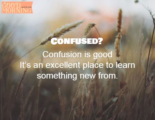 confused life quotes