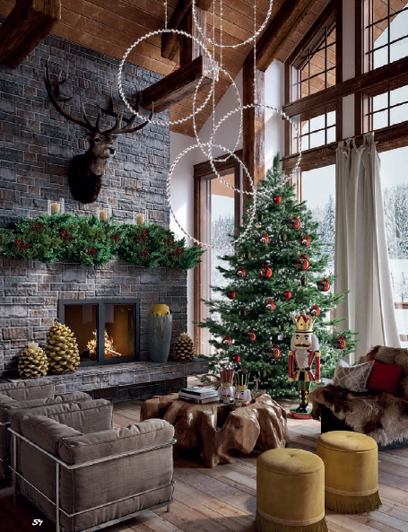 Natale Edg.Lama Design E Edg Beautiful Christmas Holiday Decor Design