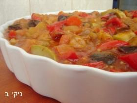 תבשיל ירקות מאודים