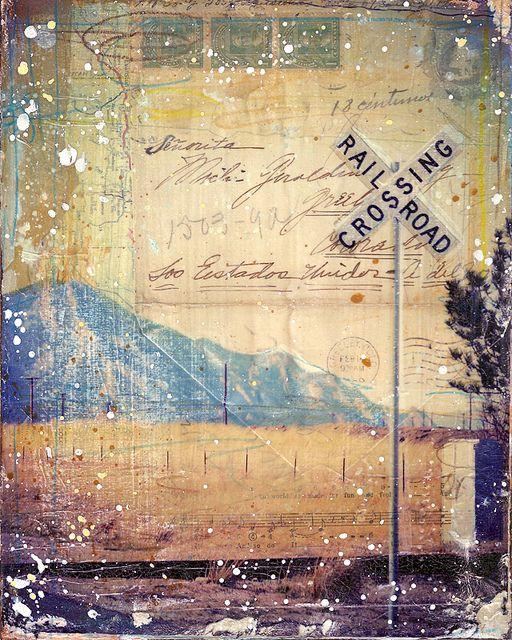 Colorado Crossing by Mae Chevrette, via Flickr