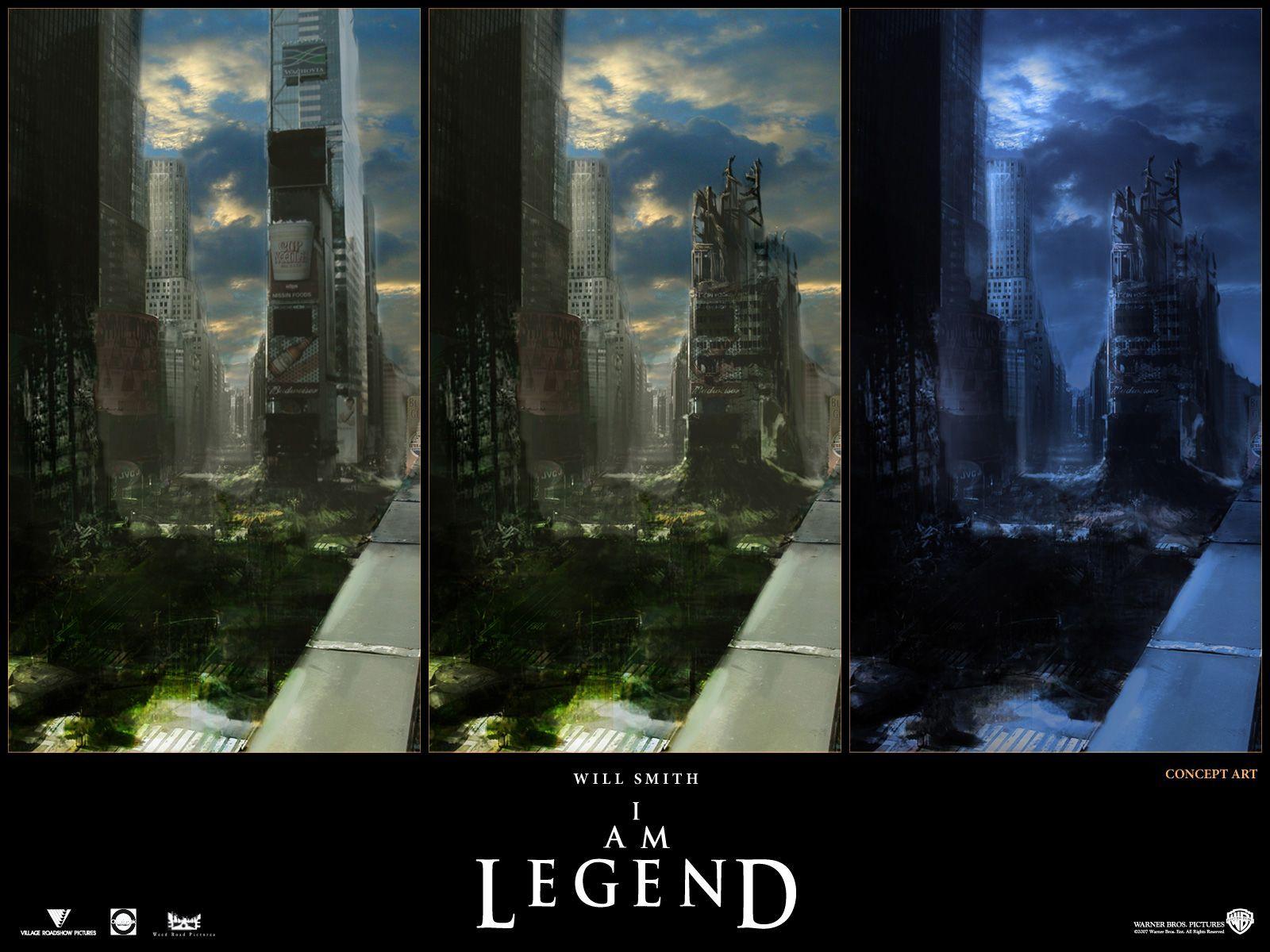 Concept Art I Am Legend Concept Art Scenery Background