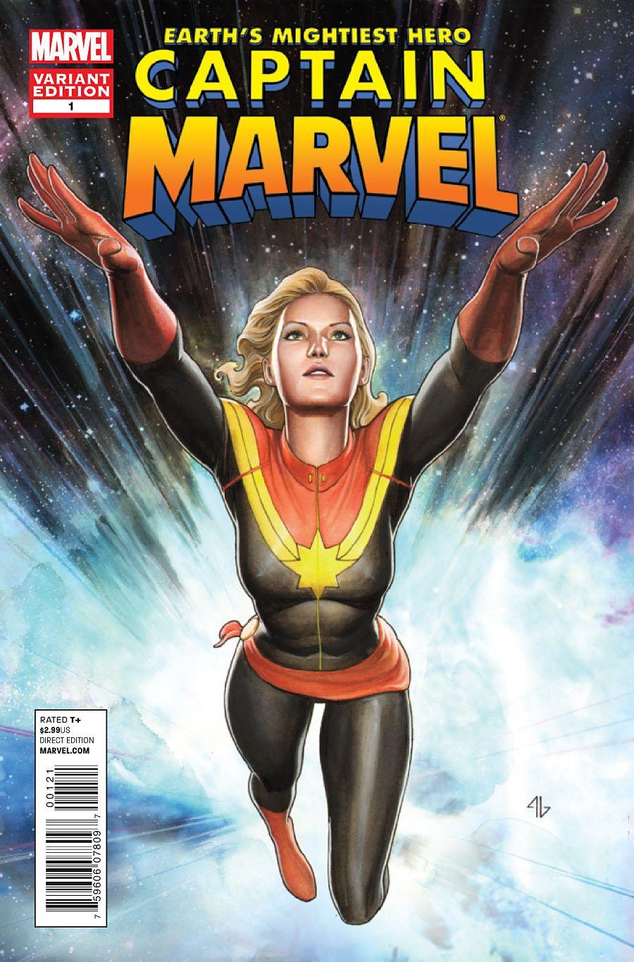 captain marvel a girl
