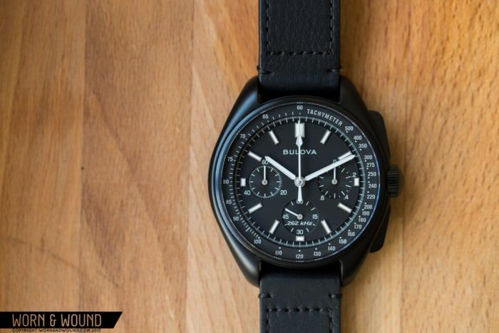 ed9bf035d48 The Other Moon Watch—Bulova Lunar Pilot Chronograph Review - Worn   Wound
