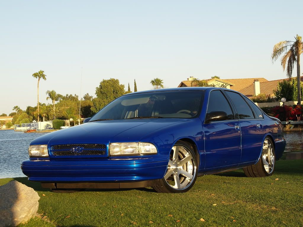 impala ss Frame notched Wheel tubs stretched Narrow rear end ...