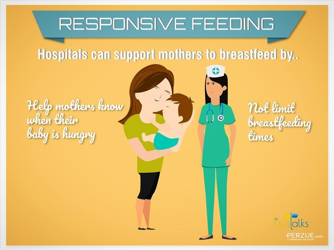 Responsive Feeding Refers To A Relationship Between An Infant And