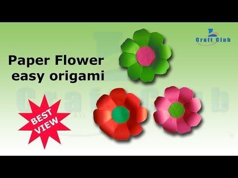 Kickstart your day with a good video diy crafts paper flowers diy crafts paper flowers very easy linas craft club httpsyoutubewatchvcfl1ofzy29e mightylinksfo