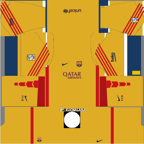 Dream League Soccer Kits Barcelona 2015 2016 With Logo Url Soccer Kits Barcelona Football Kit Soccer League