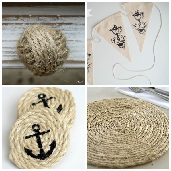 Diy Nautical Decor Ideas | Creative, Home Decorating And The Great