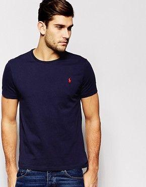Polo Ralph Lauren T-Shirt With Crew Neck In Blue £45.00 @ Asos