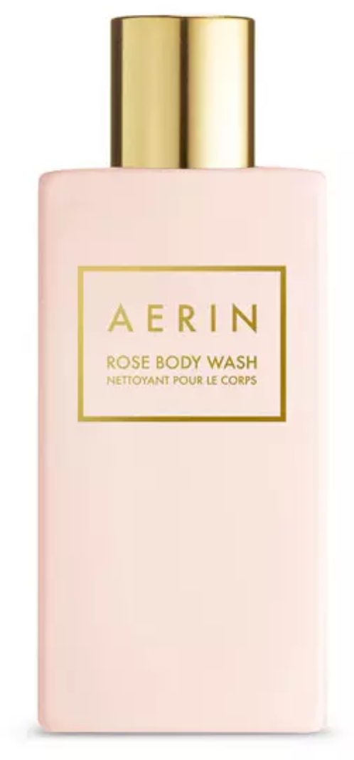 Rose body wash