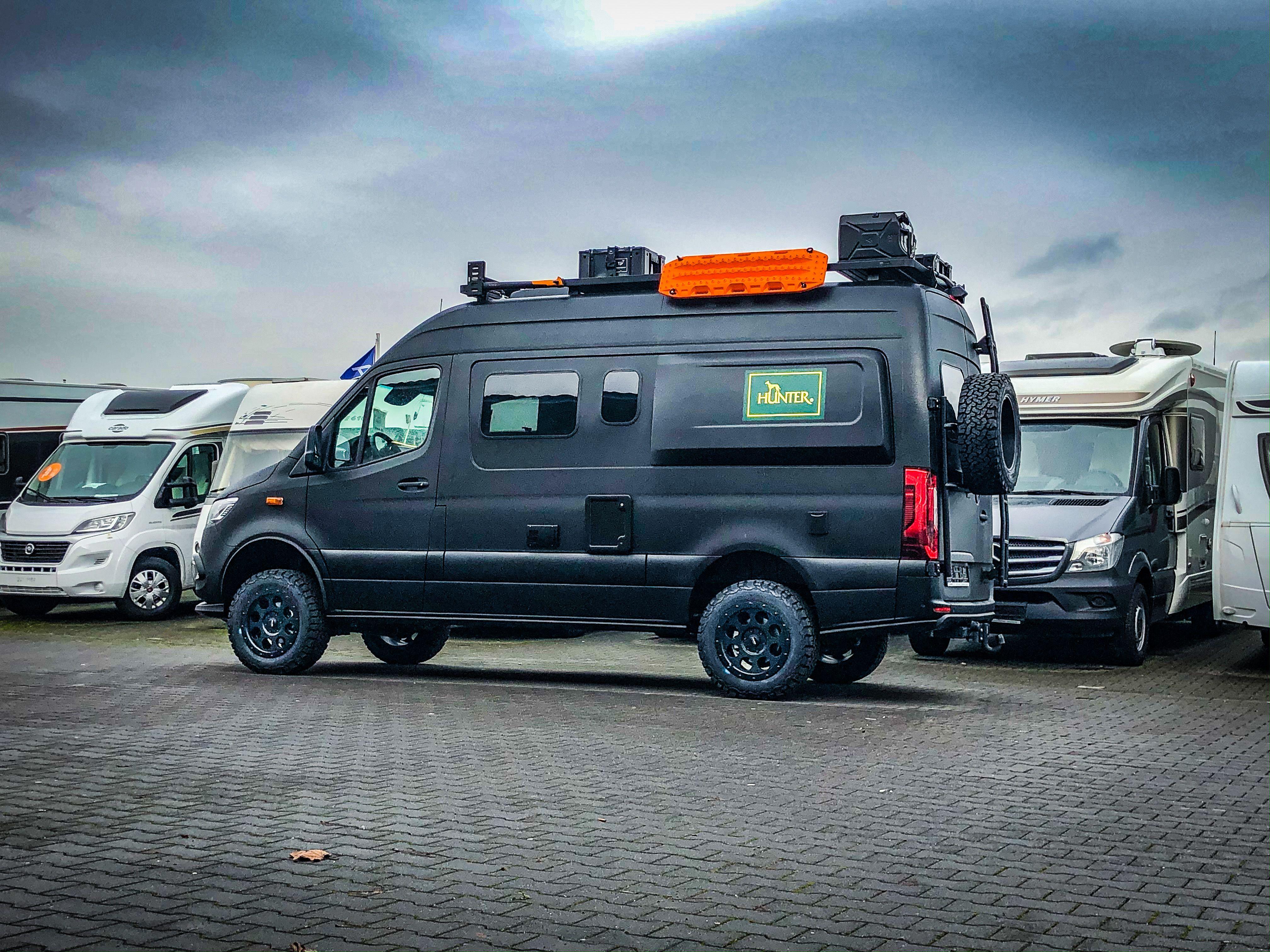 HUNTER - Edition  Allrad wohnmobil, Reisemobil, Camper kaufen