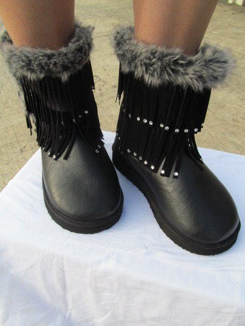 Scandalous - Black Boots  Size 5.5 thru 10