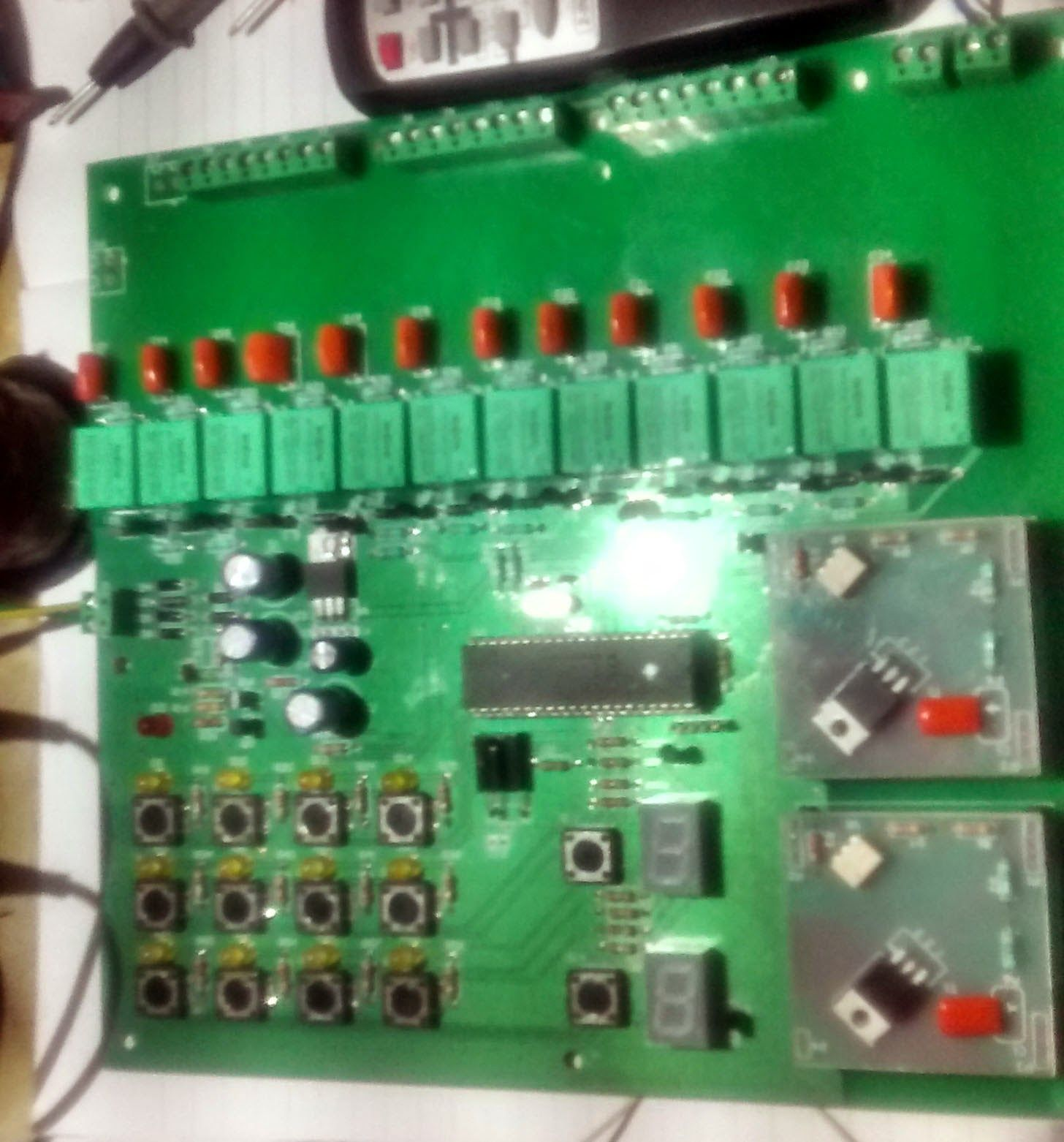 Embedded Engineering 12 Channel Relay 2 Dimmer Control Ldr Electronic Circuits And Diagramelectronics Projects By Ir Remote Keyboard